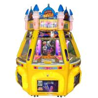 6 Players Dream Castle Pinball Game Machine Coin Pusher Metal + Acrylic + Plastic Material Manufactures