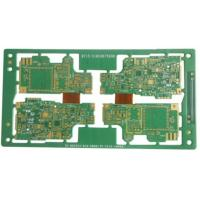 10 Layers Rigid Flex PCB For Car Audio Immersion Gold 1.32mm Thickness Manufactures