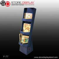 book corrugated compartments display stand Manufactures