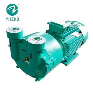 SK-3A 7hp cast iron material liquid ring vacuum pump for pelletizing machine Manufactures