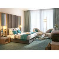 Commercial Modern Luxury Hotel Bedroom Furniture Solid Wood Material Manufactures