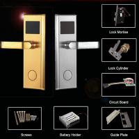 China Smart Intelligent Hotel Lock with Mifare Card/ high security with Safety Bolty (Zinc Alloy) on sale