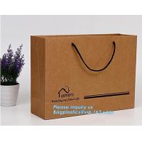 recycled paper bags luxury and stable for wine,Luxury paper shopping carrier bag