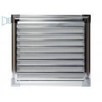 Sun Control Extruded Aluminium Louvre Windows for Home / Building Decoration Manufactures