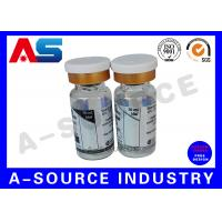 China Removable Pharmaceutical Bottle 10ml Vial Labels  Hologram Printing on sale