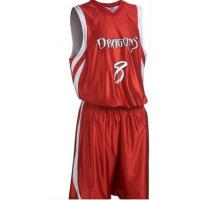 Red Basketball Uniforms Manufactures