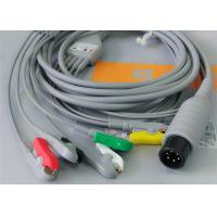 5 Leads Ecg Snap Medical Cable , Medical Equipment / Medical Device Accessories Manufactures