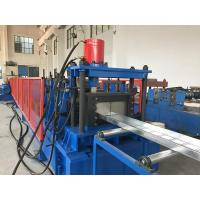 China 4-5 Meters / Min Cable Tray Roll Forming Machine Hydraulic Cutting Cr12mov on sale