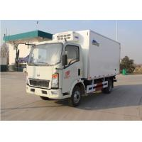 Euro 2 5 Ton Small Freezer Truck, 95km/H Max Speed Refrigerated Van Truck Manufactures