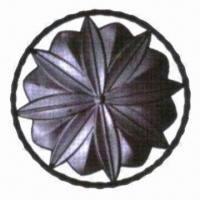 Blacksmithing Flower Panel Component, Suitable for Gates, Fences Window Grill and Inside Walls Manufactures