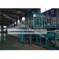 China Chicken Farm Egg Box Making Machine , Egg Carton Machine Big Capacity on sale