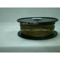 Bronze 3D Printer Metal Filament Polished 1.75 Mm 3D Printer Filament Manufactures