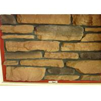 Thick  Cement Artificial Wall Stone For Outside Garden Steam - Cured Manufactures