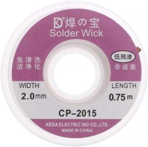 3.5mm Width Desoldering Braid Welding Solder Wick 1.5M Length Manufactures
