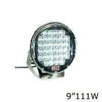 4X4 Outside Flood Light Fixtures , 10000 Lumen Round Led Driving Lights Manufactures