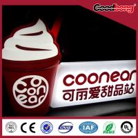 wall mounted High Brightness acrylic light box signs,acrylic sign board Manufactures