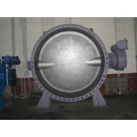 DN2200 Double Offset Butterfly Valve / Threaded Victaulic Butterfly Valve Manufactures