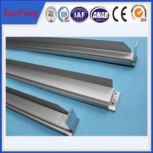 Matte aluminium anode aluminium profile for solar quoted by weight aluminium profile price Manufactures
