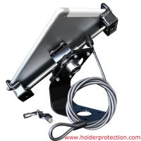 COMER Universal adjustable Security anti-theft display metal holder stand lock cable for tablet Manufactures