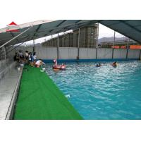 China Large Swimming Pool Tent Powder Coated Steel or Aluminum UV Resistance on sale