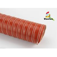 Heat Resistant High Temperature Ducting Portable Spiral For Dehumidification Manufactures