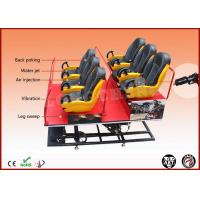 China 6 DOF Hydraulic 6 Seat 6D Cinema Equipment XD Movie Theater 220 Volt on sale