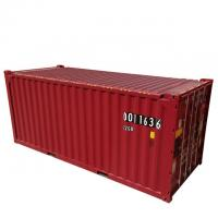 DNV Certificate 39.90CBM 20ft Container Red color Corten-A Material New Condition Manufactures