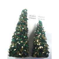 2018 new Christmas tree ornaments decoration handmade artificial crafts indoor and ourdoor from nature material Manufactures
