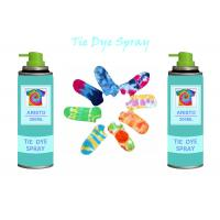 China Multi Colorful 200ml Tie Dye Spray Paint DIY For Clothing / Scarves / Stockings on sale
