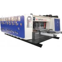 High Speed Flexo Printing Slotting / Die Cutting Machine Three Color Manufactures