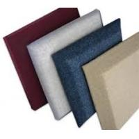Interior Decorative Sound Panel Fabric / Polyester Acoustic Panels For Lecture Theater Manufactures