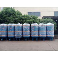 1000L industrial carbon steel air tank for stationary screw air compressor Manufactures