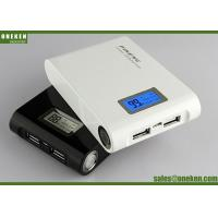 External 18650 Power Bank Mobile , Smart Phone Portable Power Bank Rechargeable Battery Manufactures