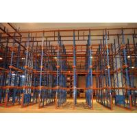 Customized Forklift Drive In Racking System Warehouse Storage Logistic Equipment Manufactures