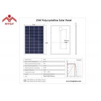 China Polycrystalline Silicon Solar Cells , Polycrystalline Solar Module Easy Installation on sale