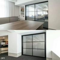 Fast Response Switchable Smart Glass PDLC Film Long Life With High Security Manufactures