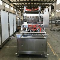 China Small Scale Candy Depositor Machine For Soft / Hard Candy 1850*950*1620mm on sale