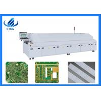 Large 6 Zone Hot Air Double Rail Solder Reflow Oven Durable With PC Control Manufactures