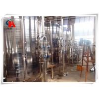 Pure Drinking Industrial Water Treatment Systems Storage Tank 3000L / H Capacity Manufactures