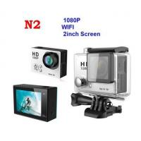 China New Arrival N2 2 inch Sports Cam Full HD 1080P Action camera with Wifi remote control on sale