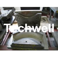 Custom Elbow Moulding Machine for Black Steel / Galvanized Steel / Copper Downspout Elbow Manufactures
