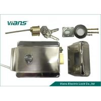 Quality High Strengh Material Home door rim lock , stainless steel rim lock Opening Left for sale
