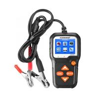 China Konnwei BT100 VS KW650 6-12 V Motorcycle battery Tester with Polish on sale