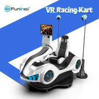 HTC Helmet Virtual Reality Racing Simulator With Amazing 9D VR Racing Game Manufactures