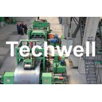 China Metal Cutting / Steel Metal Cut To Length Machine Line With Uncoiler Leveling Cutting on sale