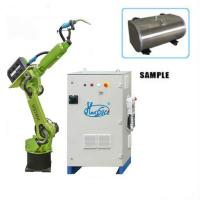 China CO2 MIG MAG TIG Robotic Spot Welding , 6 Axis Robotic Spot Welding Machine on sale