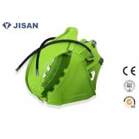 Q345B/NM400 Steel Excavator Bucket With Thumb Suit Hitachi ZX70 ZX80 EX100 ZX120 Manufactures