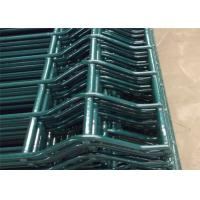 Poultry House Pvc Coated Welded Wire Mesh Fencing Galvanized With Post Manufactures