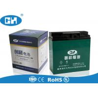 China Lead Acid Electric Motorcycle Battery 12v 20Ah Maintenance Free High Capacity on sale