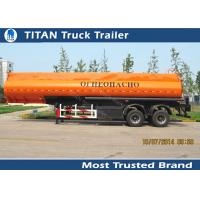 Diesel fuel gasoline tank trailer with 30000 liters - 42000 liters capacity Manufactures